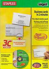 Business Card Maker Kit CD ROM Software NEW & SEALED - Free Delivery (0515-042)