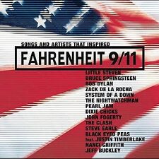 Songs and Artists That Inspired Fahrenheit 9/11 (CD, Oct-2004, Sony) New SS