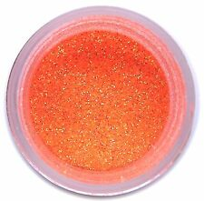 Disco MIAMI ORANGE Glitter Dust 5g Cake Decorating Fondant USA Made