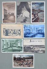 Storia postale colonie. LIBIA. 8 cartoline d'epoca spedite da Derna, Bengasi...