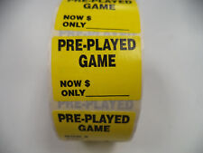 ~ 1 Roll ~ PRE-PLAYED GAME NOW ONLY Price ~ 100 Stickers ~ New, Free Shipping!