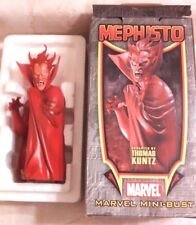"2005 Bowen Designs Marvel Mephisto Mini-Bust 6.5"" Tall 0066/2000 By Thomas Kuntz"