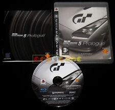 GRAN TURISMO 5 PROLOGUE PS3 Versione Italiana 1ª Edizione ••••• COMPLETO