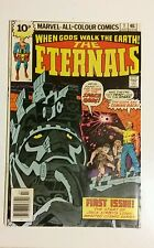 The Eternals, Jack Kirby Inspired series,1st issue + No's 2,3,4,5,,All VFN/NM