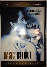 Basic Instinct Unrated Director's Cut (DVD, 1992) Ultimate Edition - BRAND NEW