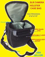 HOLSTER CASE BAG: CAMERA CANON REBEL T6i T5i T4i T3i T2i T1i XTi T3 XSi SLR DSLR
