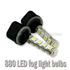 2x 880 884 885 890 893 899 H27W/1 LED Fog Light Daytime Running Light Bulbs
