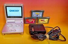 Nintendo Game Boy Advance SP Pearl Pink System AGS 101 Backlit Brighter SCREEN !