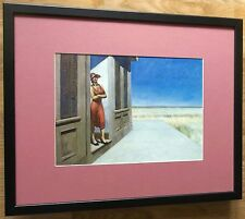 Edward Hopper print - South Carolina Morning -20''x16'' frame, art deco wall art