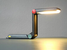 Original Philips Z LAMP design classic 80s in dark gray | Ettore Sottsass Era