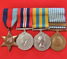 VINTAGE WW2 & KOREAN WAR BRITISH ARMY SERVICE MEDALS
