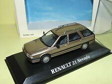 RENAULT 21 NEVADA Marron NOREV 1:43