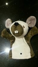 QUERKS TOOTSIE MOUSE IN NORTH AMERICA HAND PUPPET SOFT TOY EMIRATES SIMBA 20cm