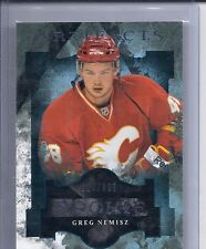 11-12 2011-12 UD ARTIFACTS GREG NEMISZ ROOKIE RC /999 154 CALGARY FLAMES