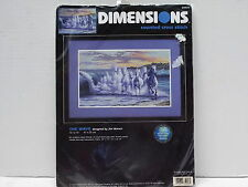 "DIMENSIONS COUNTED CROSS STITCH KIT - ""THE WAVE"" - NEW/UNOPENED"