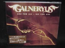 GALNERYUS One For All - All For One JAPAN CD Syu Katsu Ohta Nozomu Wakai's Desti