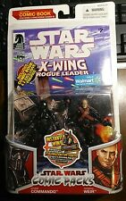 Star Wars Figure Set Comic Packs Storm Commando General Weir #2 walmart exclusiv