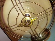 VINTAGE GE VORTALEX ELECTRIC OSCILLATING FAN  FM12V1  IN WORKING CONDITION WWII
