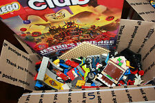 Lego Lot 6 lbs 5 oz Brick Bluck Brick Pieces Star Wars City Hero GREAT SHAPE