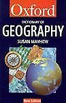 A Dictionary of Geography (Oxford Paperback Reference)