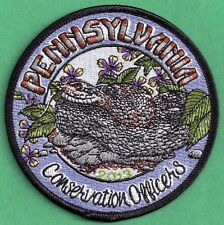 Pa Pennsylvania Fish Game Commission NAWEOA Related 2013 COPA Rattlesnake Patch
