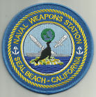 NAVAL WEAPONS STATION SEAL BEACH CA.- US NAVY - MILITARY PATCH