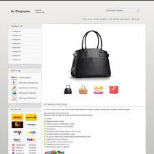 Elegant eBay Auktionsvorlage | Vorlage | Design Shop Vorlage | HTML Template