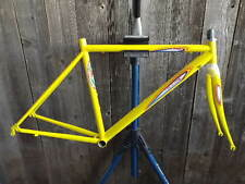 New-Old-Stock Bertin Road Frame and Fork (44 cm) w/ Bright Yellow Enamel Finish