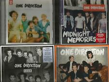 ONE DIRECTION 4 CDS UP ALL NIGHT MIDNIGHT MEMORIES FOUR ULTIMATE MADE IN THE AM