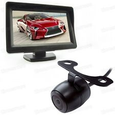 "12V 4.3"" TFT LCD Screen Car Monitor DVD + CCD Reverse Rearview Camera All Car"