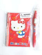 Lot of Original Sanrio Hello Kitty Red Note Pad Mechanical Pencil 2 Items