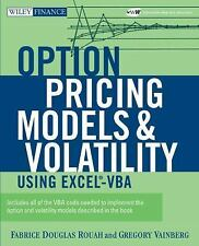 Option Pricing Models and Volatility Using Excel-VBA (Wiley Finance), Vainberg,