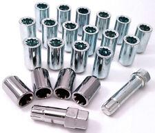 20 x alloy wheel Tuner Slim nuts inc locks locking. M12 x 1.5, Taper for Hyundai