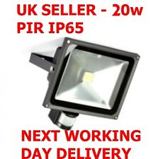Led Floodlight PIR Sensor White Day Light IP65 20w  Light Garden Outdoor flood