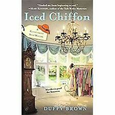 Iced Chiffon (A Consignment Shop Mystery)-ExLibrary