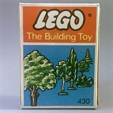 Vintage LEGO 430 Scenery Set 1966 Excellent Condition Trees Bushes Supplementary