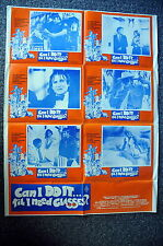 CAN I DO IT TIL I NEED GLASSES? Original 1970s LC Movie Poster Robin Williams