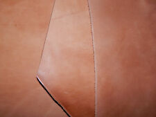 3 pcs HORSE BUTT VEG TAN Tooling Leather Natural Scrap Various Thickness #890