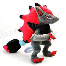 Pocket Monster Pokemon Zoroark 12'' Short Plush PP Cotton Stuffed Toys