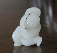 Nice  Hand  Carved  Chinese  Jade  Table  Ornament    J186