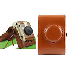 Brown PU Leather Case Bag protector For Lomography Lomo'Instant Camera -Sanremo