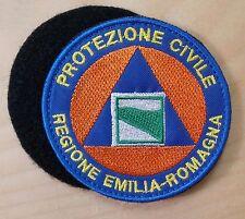 PROTEZIONE CIVILE REGIONE EMILIA ROMAGNA -  diametro cm 8 toppa patch con VELCRO