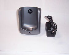 1 motorola md7001 5.8 ghz 2 line cordless phone handset base for md7081md7091