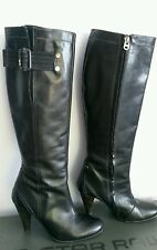 G-Star Raw, Knee High Dark Brown Boots, Size 5, Leather VGC