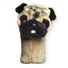 Pug Dog Golf Animal Headcover - Driver Head Cover Daphnes Golf Club Cover