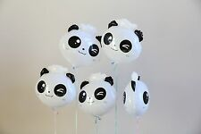 5pk Panda Foil Balloon Holiday Party Decoration Christmas Birthday Halloween