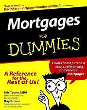 Mortgages for Dummies by Eric Tyson and Ray Brown Book New