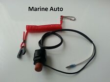 Outboard stop Kill switch, cut off switch with tether Yamaha emergency stop