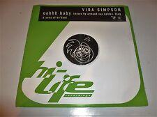 "Vida Simpson - Oohhh Baby - UK 7-track 12"" Double DJ Promo 12"" Vinyl Single"