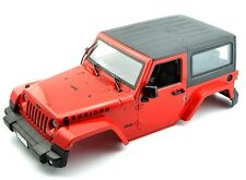 LNL JEEP red 1/10 Scale Rc Crawler Body Fits Axial Scx10 Land Rover D90 Rc4wd